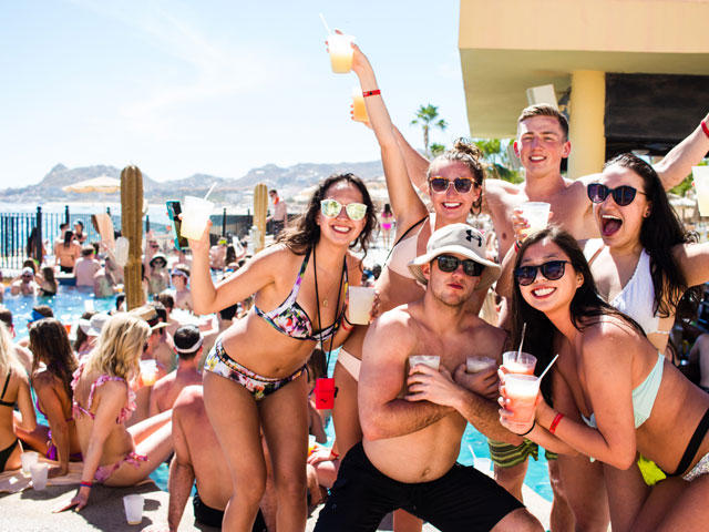 American University Spring Break Packages to Cabo San Lucas Mexico