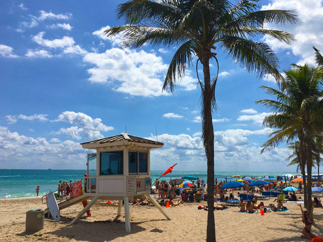 Wisconsin Green Bay Spring Break Packages to Fort Lauderdale