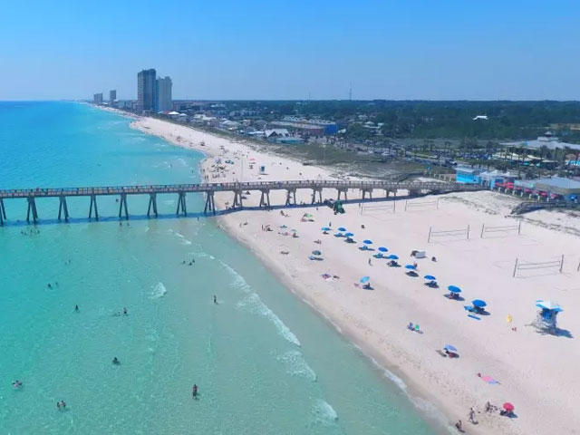 Wisconsin Green Bay Spring Break Packages to Panama City Beach, FL