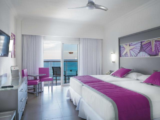 Double Room with Sea View - Hotel Riu Cancun