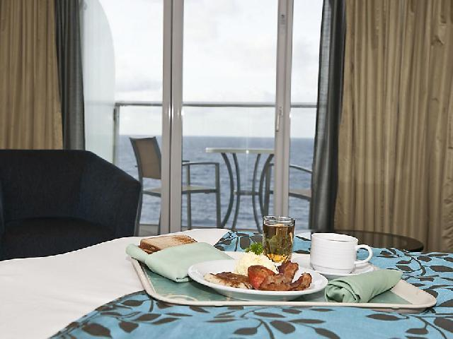Mariner of the Seas - Room Service - Fee Applies