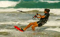 Puerto Plata, Dominican Republic - Kite Surfing