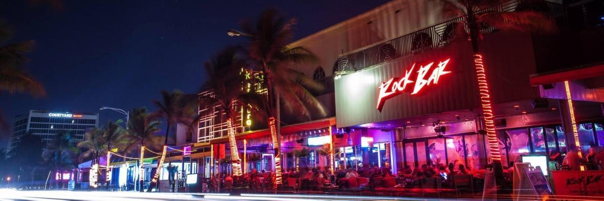 Spring Break Rock Bar - Fort Lauderdale, USA