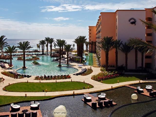 Hyatt ziva los cabos sts travel - Beautiful panoramic view house to take full advantage of the scenery ...