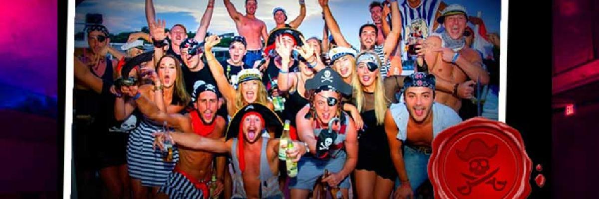 Spring Break Blackbeards Sunset Party Cruise - Nassau, Bahamas