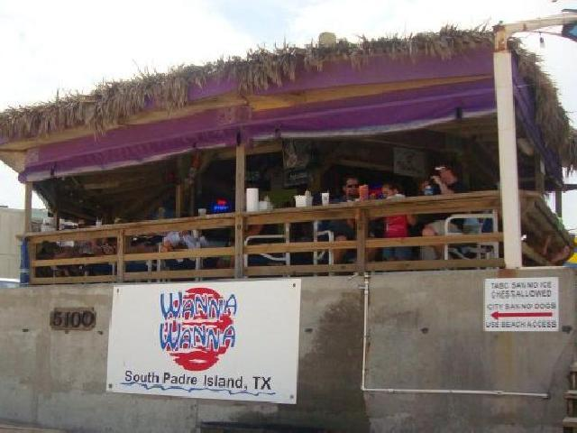 Spring Break Wanna Wanna Beach Bar - South Padre, USA