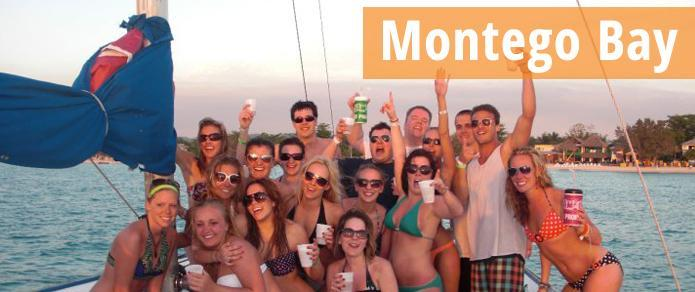 SPRING BREAK IN Montego Bay