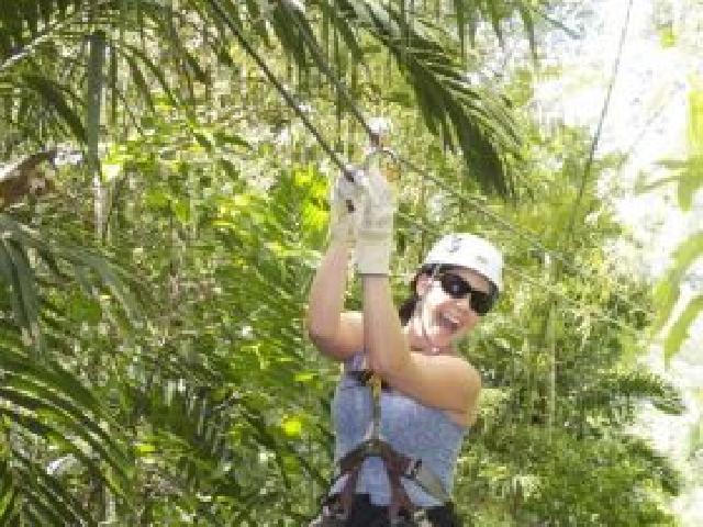 Zipline Canopy & River Tubing Combo - Ocho Rios, Jamaica