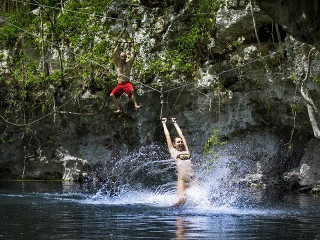 Zip & ATV Jungle Adventure - Cancun, Mexico