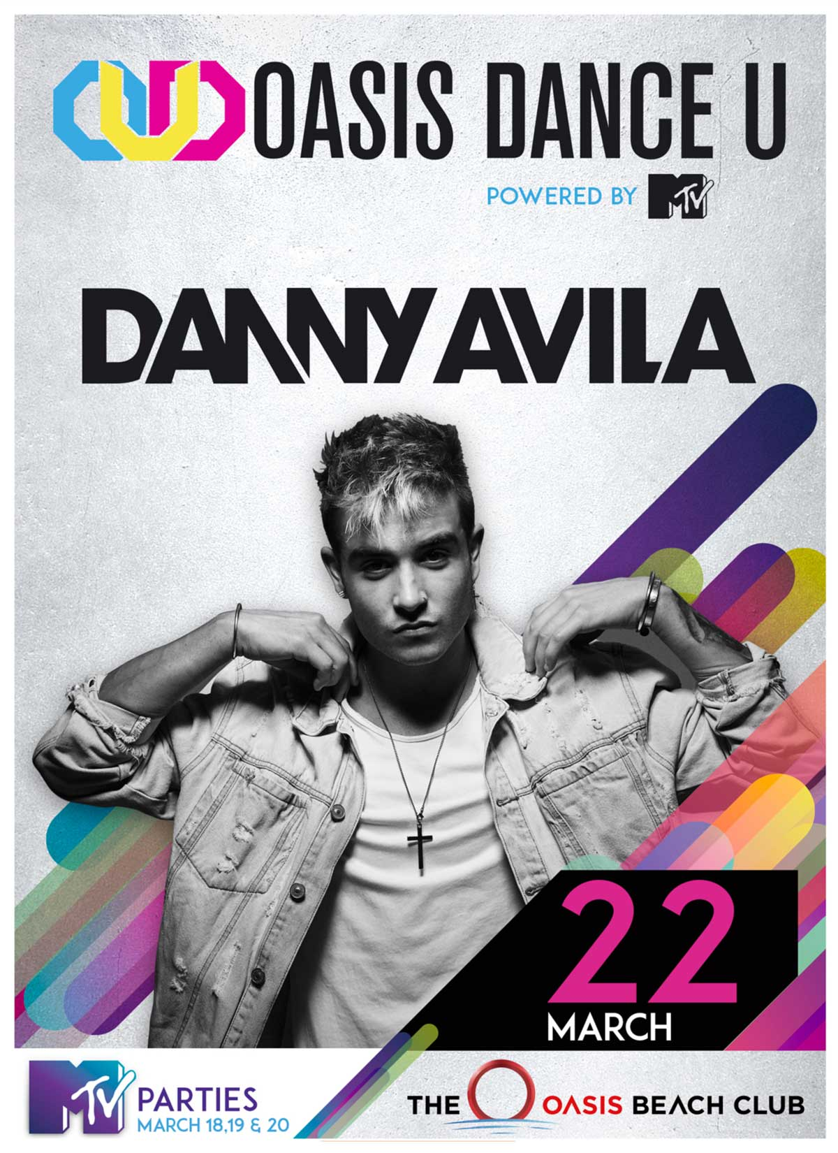 Danny Avila Oasis Cancun Spring Break DanceU March 22