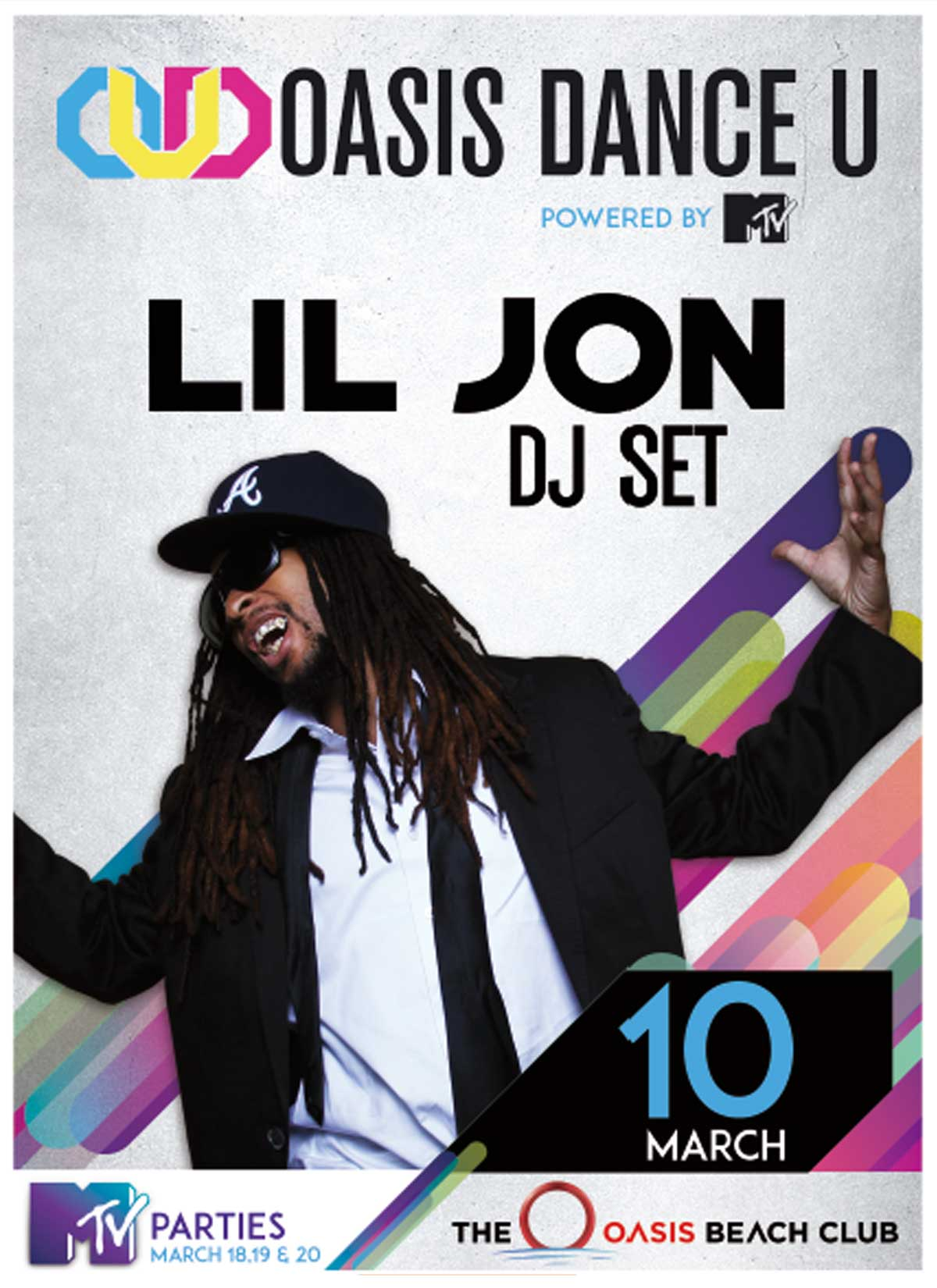 Lil Jon Oasis Cancun Spring Break DanceU March 10