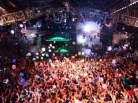 Spring Break Party at the City in Cancun