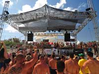 Oasis Cancun Beach Party
