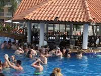 Pool Bar at Occidental Caribe in Punta Cana