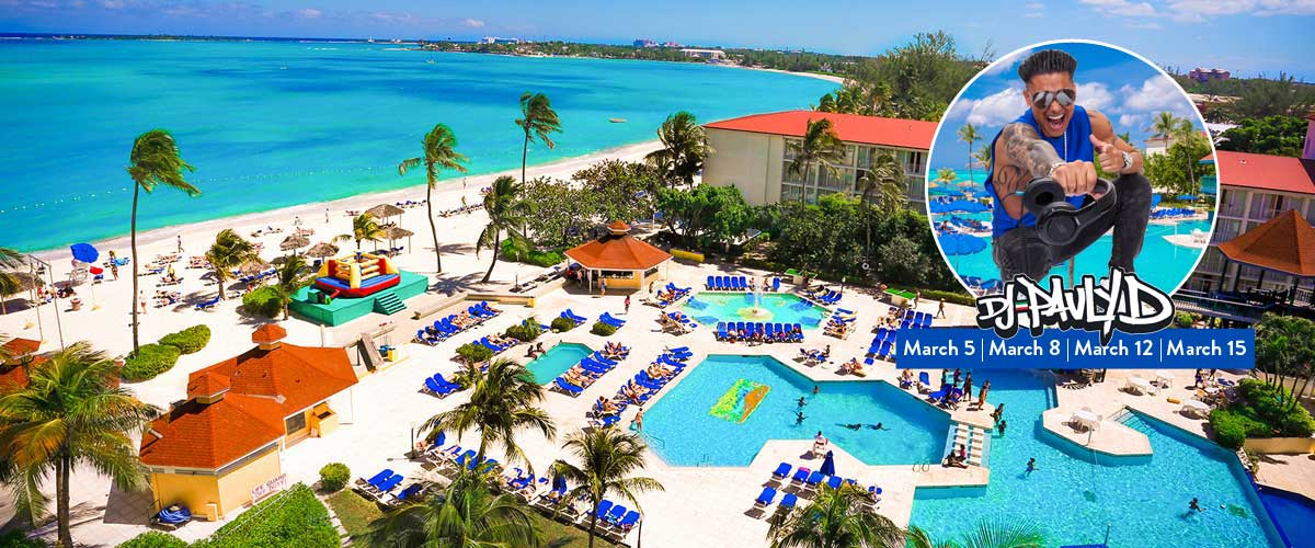 Spring Break 2020 Breezes Nassau Bahamas